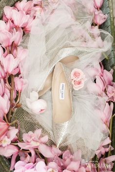 -Jimmy Choo for the bride. <3
