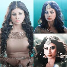 I am sooo excited to see her as naagin again 😍❤ . Mauni Roy, Simple Portrait, Stylish Girl Images, Tv Actors, Beautiful Indian Actress, Girls Image, Indian Beauty, Indian Actresses, Blouse Designs