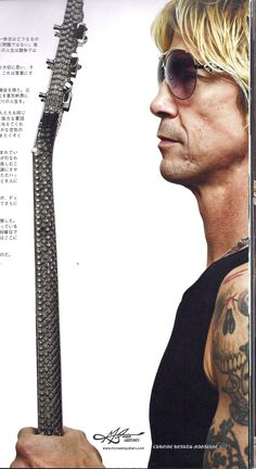 DUFF MCKAGAN (Bass Guns N' Roses) en CHROME HEARTS