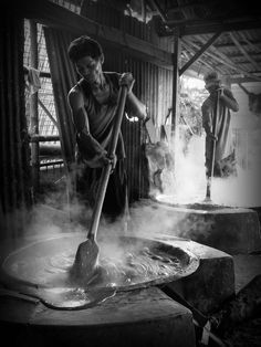 The Dodol Betawi Makers by Syahrul Ramadan, via 500px