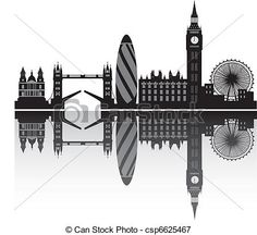 Vectors Illustration Of London Skyline In Detail Csp6625467