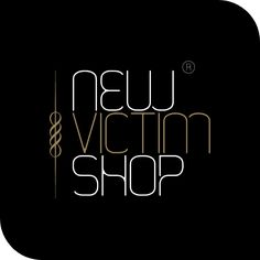 Logotipo para New Victim Shop, Oviedo.