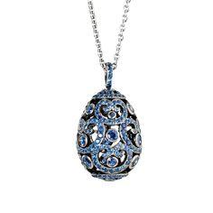 Fabergé Impératrice Sapphire Pendant #Fabergé #FabergéEgg #sapphire #pendant