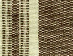 HEST01-Brown55% Hemp / 45% Organic Cotton Yarn-Dyed Stripes, Brown also comes in  blue red and yellow