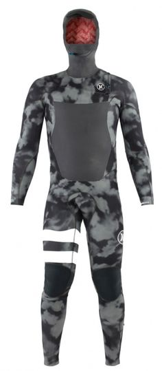 5/3mm Men's Hurley FUSION Hooded Fullsuit   Wetsuit Wearhouse