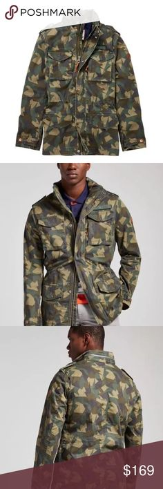 0e4b8fe4 TIMBERLAND MENS CROCKERS MOUNTAIN M65 JACKET A1L2A Part of Timberland's  Compatible Layering System: This style