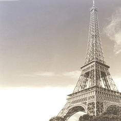 Paper House Productions - Paris Collection - 12 x 12 Paper - Eiffel Tower at Scrapbook.com $0.69