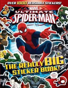 Ultimate Spider-Man: The Really Big Sticker Book! by Tomas Palacios 1423198506 9781423198505 Marvel Ultimate Spider Man, Power Man, Silly Jokes, Book Activities, Activity Books, Paperback Books, Childrens Books, Fun Facts, Books To Read