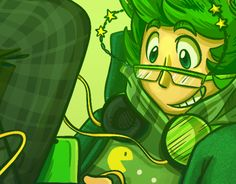 """Check out new work on my @Behance portfolio: """"Green"""" http://be.net/gallery/33672250/Green"""