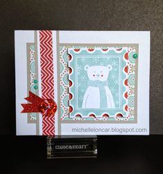 Show and Tell, with Michelle: Stamp of the Month October 2014 Blog Hop: Home for the Holidays