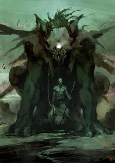 Creative Illustration, Cyclops, Barontieri, Deviantart, and Fantasy image ideas & inspiration on Designspiration Monster Art, Fantasy Monster, Monster Design, Monster Concept Art, Fantasy Concept Art, Dark Fantasy Art, Fantasy Artwork, Monster Illustration, Illustration Art