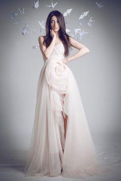Gorgeous Jean-Louis Sabaji wedding dress