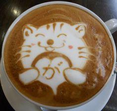 cute kitty coffee
