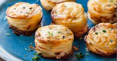 Il vous suffira d'un moule à muffins pour cuisiner ce petit accompagnement