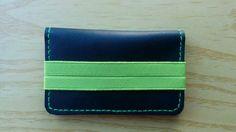 Cartera de hombre,cartera de cuero,cartera de piel,cartera bolsillos,cartera verde,cuero azul,piel natural,cartera caballero,cartera piel