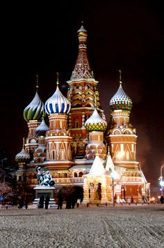 As one of the most beautiful winter destinations in the world, Russia! Here is a list of winter things to do.