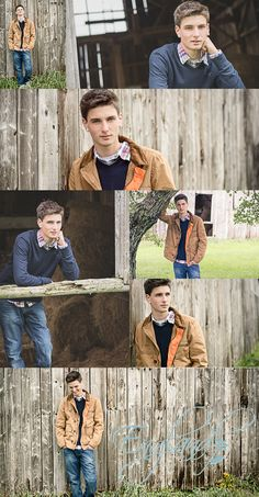 Country senior photo ideas. Northern Vermont Barn Senior photography by England Photography.