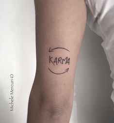 41 Most Beautiful Tattoo Ideas for Women - Page 16 of 40 - Tattoo Designs Little Tattoos, Mini Tattoos, Cute Tattoos, Beautiful Tattoos, Body Art Tattoos, Tatoos, Karma Tattoos, Karma Tattoo Symbol, Karma Tattoo Ideas
