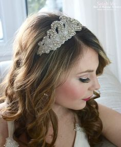 The Olivia Rhinestone Hair Band Selah Vie Hair and Makeup Artistry has recently opened our online shop selling a wide variety of Bridal Ribbon Hairbands, Bridal Headbands & Rhinstone Hair Combs. Selah Vie also offers the option to CUSTOM ORDER a hair piece or belt that best suits you! Prices vary and are available to buy online at www.selahvie.ca #Hair #Bridal #photoshoot #BridalHair #BridalBling #HairBling #Rhinestones #Haircombs #Bling #Pictureperfect #Beauty #LoveYourself #londonON…