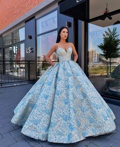 View more beautiful gowns by browsing Pageant Planet's dress gallery! Pretty Quinceanera Dresses, Sweet 16 Dresses, Beautiful Prom Dresses, Pretty Dresses, Ball Gown Dresses, 15 Dresses, Ball Gowns Fantasy, Planet Dresses, Toddler Pageant Dresses