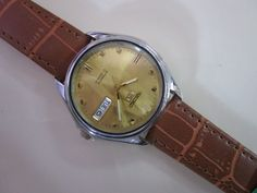 Vintage collectible men's wristwatch SEIKO AUTOMATIC 7S26 #VINTAGEFAVRELEUBASEAKING Favre Leuba, Seiko Automatic, Omega Watch, Watches, Vintage, Accessories, Ebay, Collection, Wristwatches