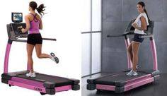 What?  A pink treadmill?  Dude, I NEED!!!!  cybexpink