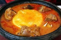 Ghanaian foods are typified by the distribution of food crops.Ghana encourages the use of local crops and food available in the best possible way. Ghanaian Food, Nigerian Food, Crab Dishes, Light Soups, West African Food, Food Staples, African Recipes, Ethnic Recipes, Cooking Time