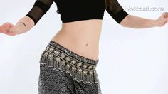 How to Do Single Hip Vertical Figure 8 | Belly Dancing (+playlist)
