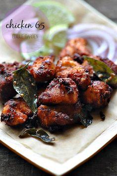 Chicken 65 Recipe, How to Make Chicken 65 Step by Step