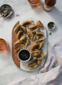 Vegetarian Pot Stickers – A Cozy Kitchen