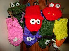 Hand Puppet (crochet) pattern [by Mamita Querida via Ravelry]