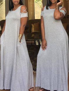 How tо Wear Clothes thаt Flatter Yоu Trend Fashion, Cute Fashion, Boho Fashion, Fashion Outfits, Maxi Dresses Uk, Plus Size Maxi Dresses, Dress Outfits, Flowing Dresses, African Fashion Dresses