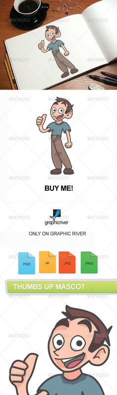 VECTOR DOWNLOAD (.ai, .psd) :: http://hardcast.de/pinterest-itmid-1007561465i.html ... Thumbs Up Mascot ...  business, cartoon, character, creativecommando, fun, mascot, nerd, repair, vector, web  ... Vectors Graphics Design Illustration Isolated Vector Templates Textures Stock Business Realistic eCommerce Wordpress Infographics Element Print Webdesign ... DOWNLOAD :: http://hardcast.de/pinterest-itmid-1007561465i.html