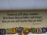 great quote for a classroom