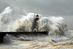 Massive waves from an Atlantic Ocean storm pummel and overwhelm the Foz do Douro lighthouse at the entrance to the Douro River. Cool Pictures, Cool Photos, Beautiful Pictures, Foto Picture, Lighthouse Keeper, Lighthouse Storm, Stormy Sea, Stormy Waters, Stormy Night