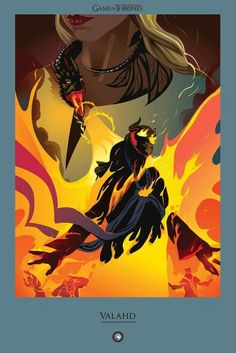 Behold, the# BeautifulDeath from #GoTSeason5 Episode 9 by Robert M. Ball