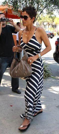 halle berry chevron dress $24.99 rayban sunglasses http://www.okglassesvips.com