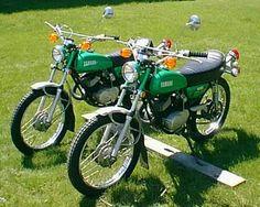 1972 YAMAHA LT2 ENDURO 100  MOTORCYCLES