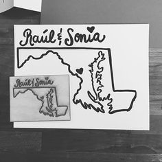 This illustration & lettering combo by @sodagator from last weeks doodle session has captured our Maryland-loving hearts!  #ssletters #madeatcatylator #lettering #handlettering #lasercut #acreativedc #dtss #silverspring #marylandpride