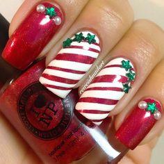 Christmas by reireishnailart #nail #nails #nailart