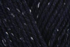 Patons Wool Blend Aran - Navy Tweed (00052) - 100g Edie Patons Wool, Tweed Men, Knitting Supplies, Needles Sizes, Wool Blend, Navy, Vests, Stuff To Buy, Hale Navy