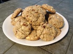 White Chocolate Chip Oatmeal Cookies - Podcast Episode 8: Video Games http://youarenotsosmart.com/2013/09/02/yanss-podcast-episode-eight/