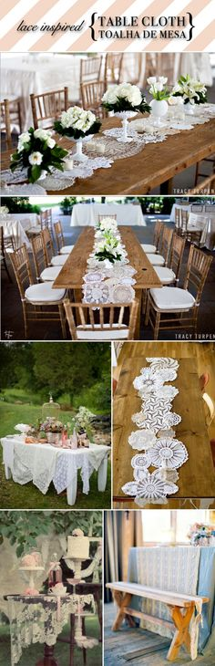 LOVE these table runners!