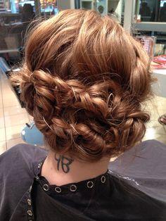 I wish I had long enough hair to do this!