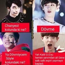 K-pop Galeri Bebeq {Ara Verildi} - Funny Ads, Funny Comics, Funny Jokes, Comedy Zone, Best Caps, Pop Photos, Exo Memes, Bts And Exo, Son Luna