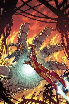 Armor Wars #4 - Iron Man by Paul Rivoche *