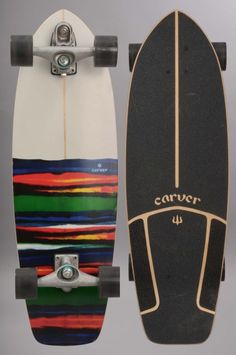 Carver-Resin C7-INTP/ Skateboard with moter to GLIDE in the water! Amazing for RC