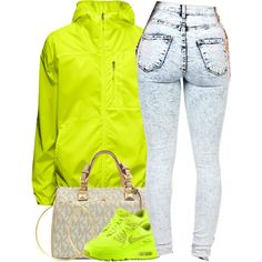 February 26 , 2015 by christina001 on Polyvore featuring Michael Kors, Charlene K and NIKE