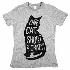 'One Cat Short of Crazy'