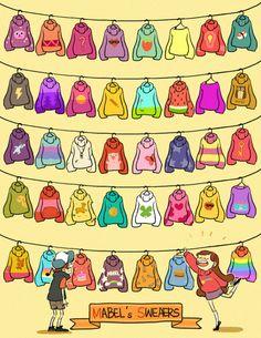 tinnim2:  mabel's sweaters!